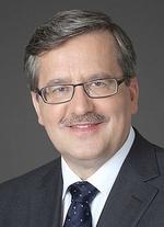 President Bronislaw Komorowski