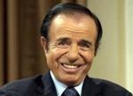 President Carlos Menem