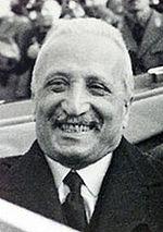 President Enrico De Nicola