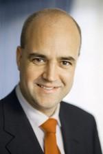 Prime Minister Fredrik Reinfeldt