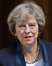 Theresa May's Prime Ministerial Portrait